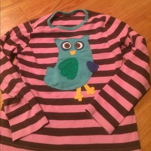 Mini Boden owl shirt